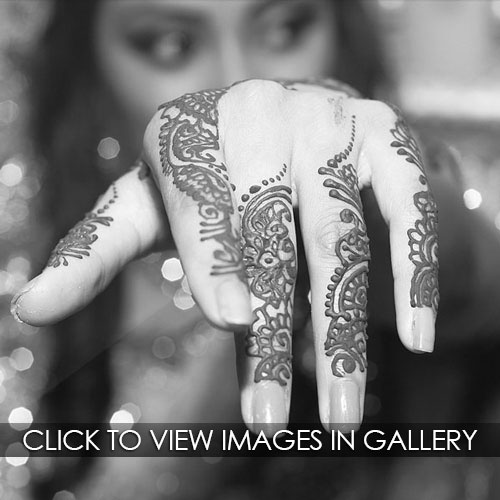 bengali asian mehndi bride