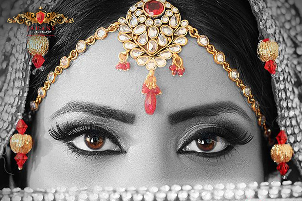asian wedding bridal photograph
